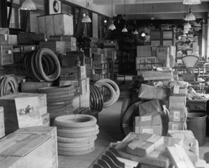 Dead letter office - Dead letter office, probably in Washington, D.C.; September 1922