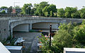 Decommissioned I-695 underpass - northbound Sousa Bridge - Washington DC.jpg