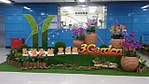 Decoration about WELCOME VISITORS for Airport N. Station in the concourse at Guangzhou Metro.jpg