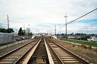 Deer Park (LIRR station) - Image: Deer Park Station Looking West