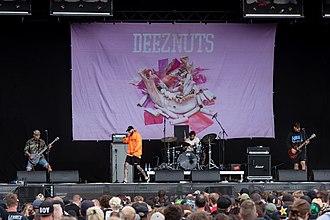 Deez Nuts (band) - Deez Nuts at Reload Festival 2018