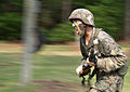 Defense.gov News Photo 110513-A-0193C-016 - A Marine recruit charges the next obstacle while going through the bayonet assault training course at Parris Island, S.C., on May 13, 2011.jpg