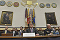 Defense Secretary Ash Carter, center, and Army Gen. Martin E. Dempsey, right, chairman of the Joint Chiefs of Staff, appear before the House Armed Services Committee in Washington, D.C., to testify on U.S. poli 150617-D-NI589-292.jpg