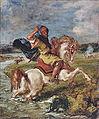 Delacroix, Moroccan Horseman Crossing a Ford.jpg