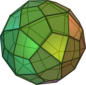 Deltoidal hexecontahedron - Deltoidal hexecontahedron