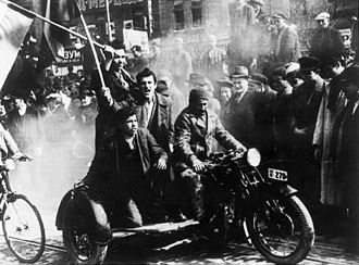 Yugoslav coup d'état - Demonstrations in Belgrade on 27 March