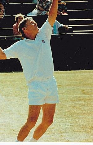 Dennis Ralston - Dennis Ralston Wimbledon circa 1987