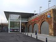 Deptford station entrance 2013