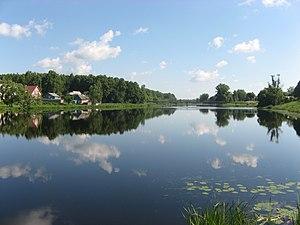 Yelninsky District - Desna river in Yelnya, Yelninsky District
