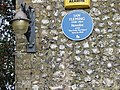 Detail on the Blue Plaque, Duck Inn. - geograph.org.uk - 323637.jpg