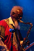 Deutsches Jazzfestival 2013 - Pharoah and the Underground - Pharoah Sanders - 07.JPG