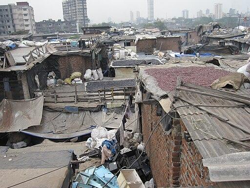 Dharavi slum, Mumbai, India - 20081220