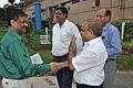 Dhrubajyoti Chattopadhyay Shakes Hands with Anil Shrikrishna Manekar - Science City - Kolkata 2016-07-01 5430.JPG