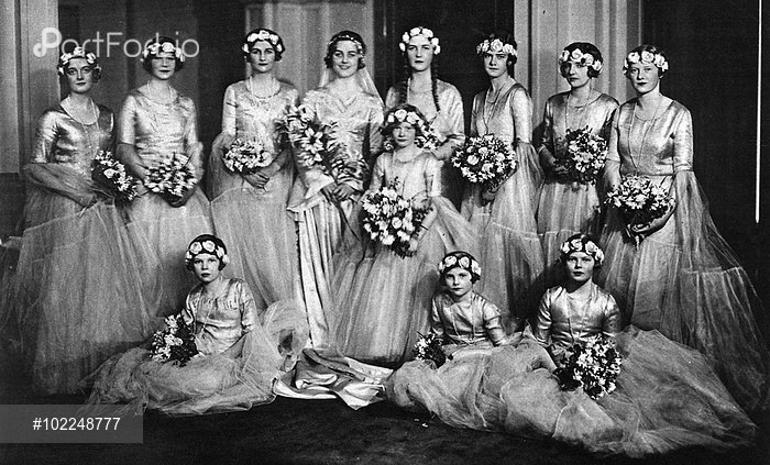 Diana Churchill Mitford wedding