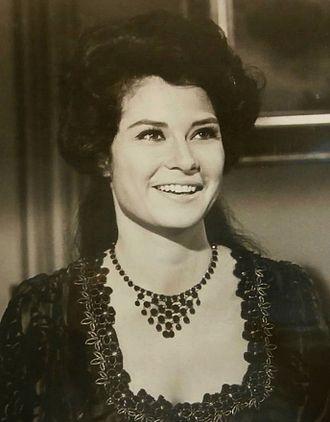 Diane Baker - Guest starring in The Virginian, 1969