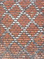 Diaper pattern tudor brickwork at Fulham Palace - geograph.org.uk - 835775.jpg