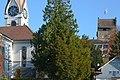 Die Reformierte Kirche und das 'Schloss' in Uster, Ansicht von der Apothekerstrasse 2012-11-14 13-22-02.JPG