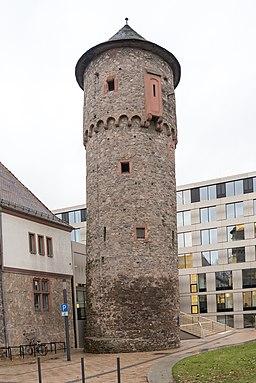 Albinistraße in Dieburg