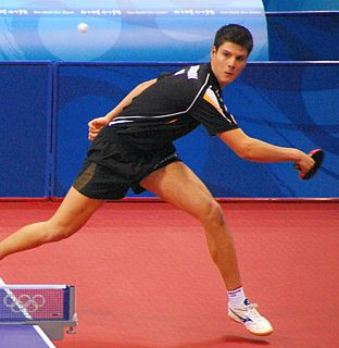 Dimitrij Ovtcharov table tennis player