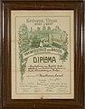 Diploma- Houtteman, Onbekend, Bakkerijmuseum Veurne, Diploma, 15669.jpg