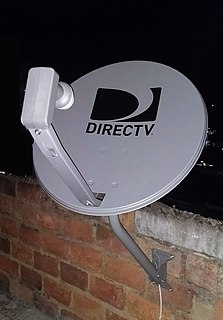 DirecTV direct broadcast satellite & streaming TV company