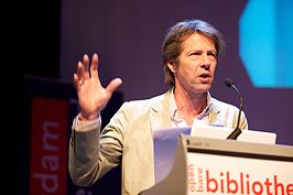 Dirk van Weelden @ the unbound book conference (5743008594).jpg