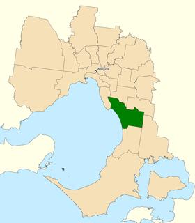 Division of Isaacs Australian federal electoral division