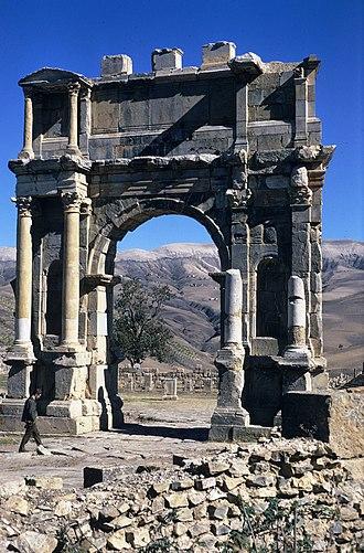 Djémila - Image: Djemila, Algeria
