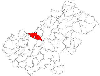 Doba, Satu Mare Commune in Satu Mare, Romania