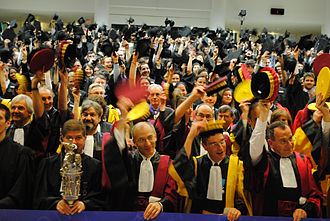 Sorbonne University - Sorbonne University's graduation ceremony, May 2011