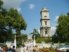 Dolmabahce clock tower.jpg