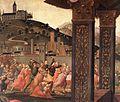 Domenico ghirlandaio, adorazione dello spedale degli innocenti 03.jpg