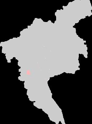 Dongshan District, Guangzhou - Location of Dongshan on Guangzhou.