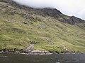 Doo Lough - Mweelrea Mountains, western shore of Doo Lough ^ the 'Split Rock' (Glacial Erratic) - north eastern mountain flank - geograph.org.uk - 2057438.jpg