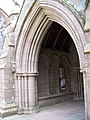 Doorway, Brechin Cathedral - geograph.org.uk - 828210.jpg