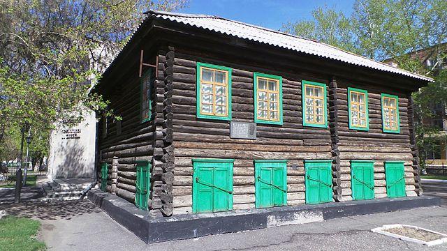 Дом в Семее, в котором Достоевский жил в 1857—1859гг.