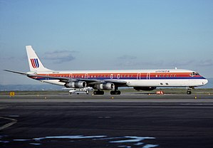 United Airlines Flight 173 - A United Airlines Douglas DC-8 similar to the one involved in the crash