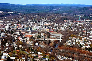 Fitchburg, Massachusetts - Downtown Fitchburg seen from the south.