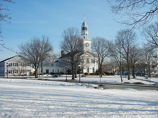 Downtown Reading Massachusetts