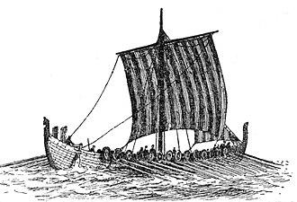 Icelandic Commonwealth - Image: Drakkar (Larousse detail nave 02) A Brun