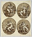 Drawing, Four Ovals- Fortitude, Justice, Prudence, Temperance, 1803 (CH 18122101).jpg