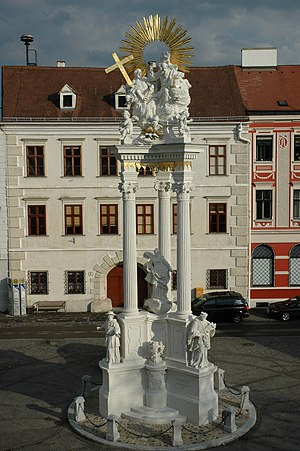 Dreifaltigkeitssäule Krems 2