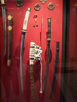 Japanese sword - Traditional Samurai swords and fittings