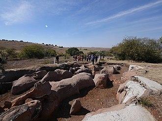 Drimolen - The 2.61 million year old Drimolen Makondo fossil bearing palaeocave in South Africa