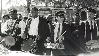 Jazz funeral Tradition developed in New Orleans