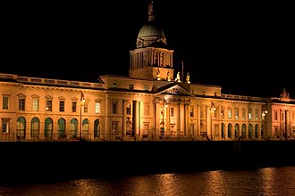 The Custom House - The Custom House at night