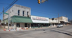 Downtown Dublin, Texas