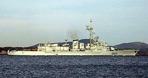Dupleix, a Georges Leygues-class frigate