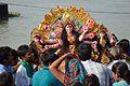 Durga Idol Immersion - Baja Kadamtala Ghat - Kolkata 2012-10-24 1502.JPG