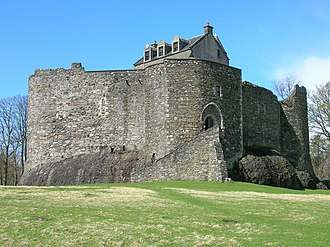 Clan MacDougall - Dunstaffnage Castle, historic seat of the MacDougalls